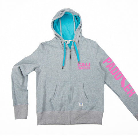 """Word Cloud"" Recycled Plastic Women's Hooded Zip Sweatshirt"