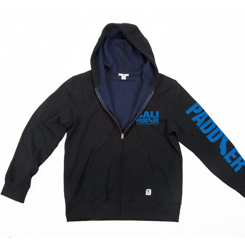 """Word Cloud"" Recycled Plastic Hooded Zip Sweatshirt"