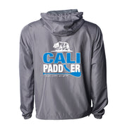 """CALI-PADDLER"" Water-Resistant Windbreaker Jacket"