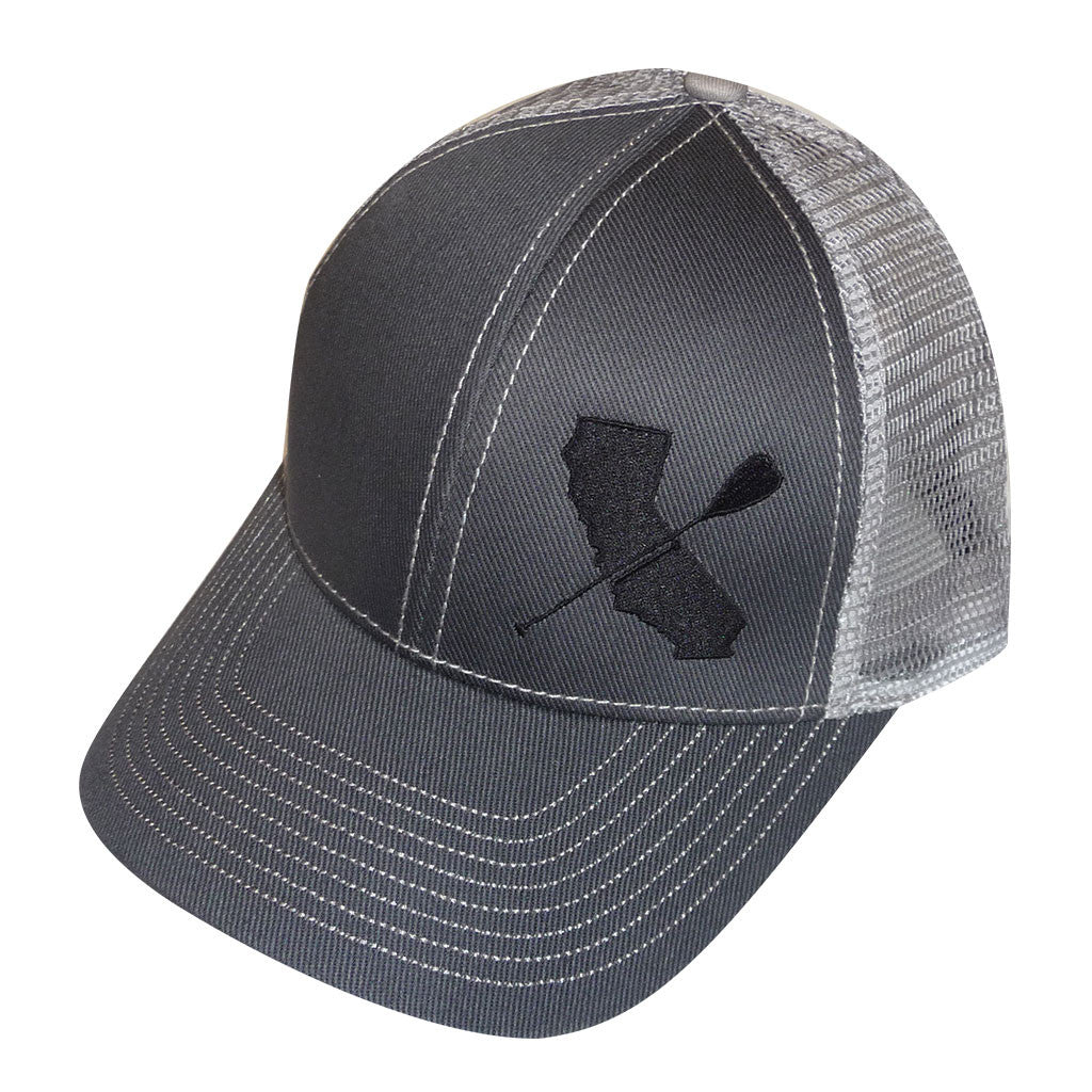 Low Profile Cotton Twill Mesh Hat
