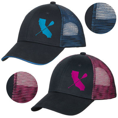 Iridescent Cali Paddler Hat