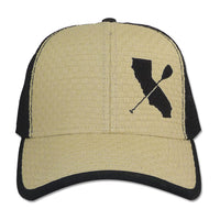 Straw Cali Paddler Hat