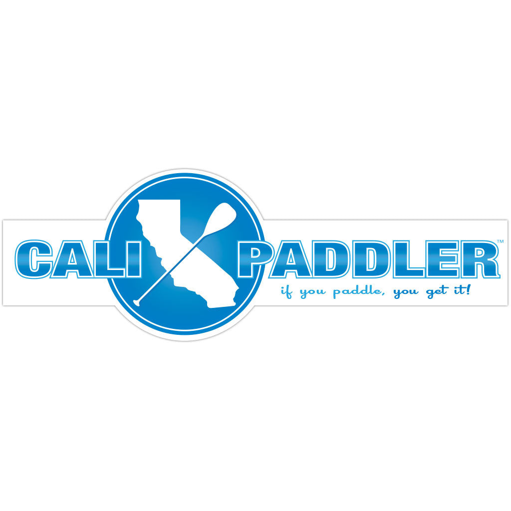 """Cali Paddler"" Blue Sticker"