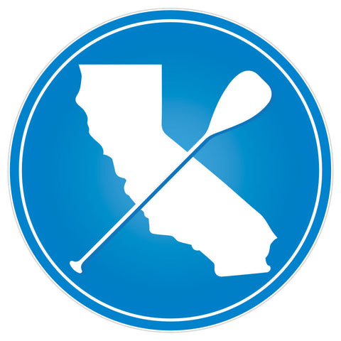 """Cali Paddler"" Icon Sticker"