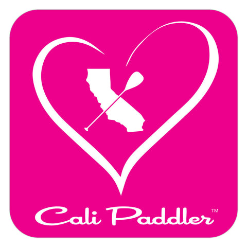 """iHeart Cali Paddler"" Sticker"
