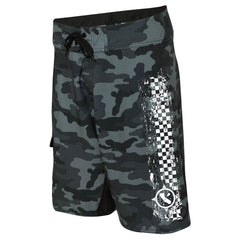 Black Camo Paddle Board Shorts
