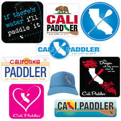 """Cali Paddler"" Epic Sticker 9-Pack"