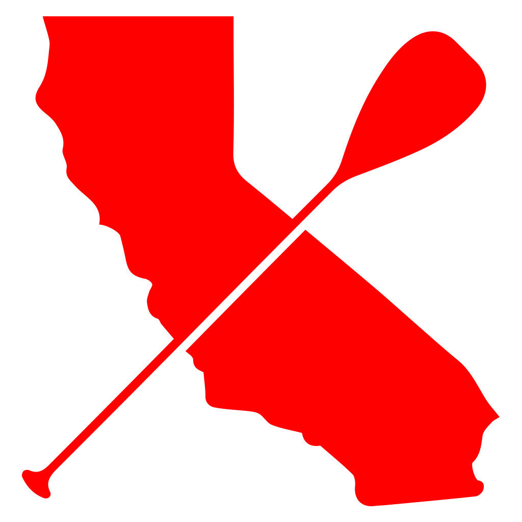 """Cali Paddler"" Icon Vinyl Decal"