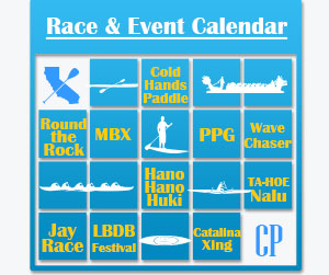 Paddle Race Event Calendar