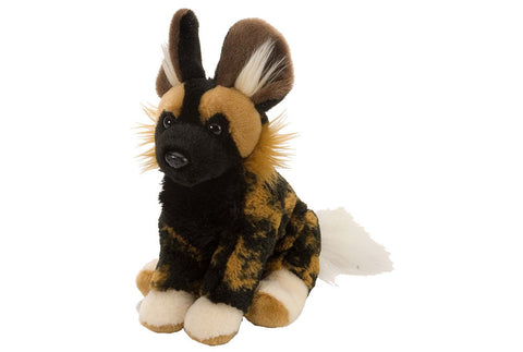 Cuddlekins Mini African Wild Dog (8 in) by The Wild Republic
