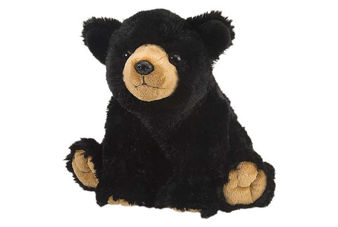 Cuddlekins Black Bear (12 in) by The Wild Republic