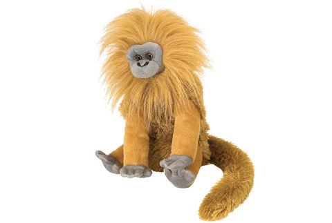 Cuddlekins Golden Lion Tamarin (12 in) by The Wild Republic
