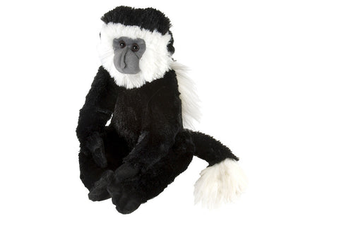 Cuddlekins Colobus Monkey (12 in) by The Wild Republic