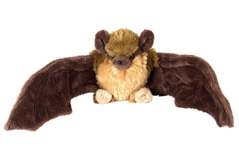 Cuddlekins Mini Little Brown Bat (8 in) by The Wild Republic