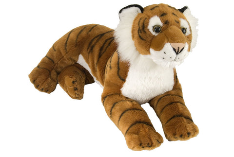 Cuddlekins Laying Tiger (16 in) by The Wild Republic