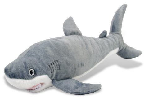 Cuddlekins Great White Shark (15 in) by The Wild Republic