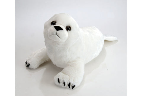 Cuddlekins Harp Seal Pup (15 in) by The Wild Republic