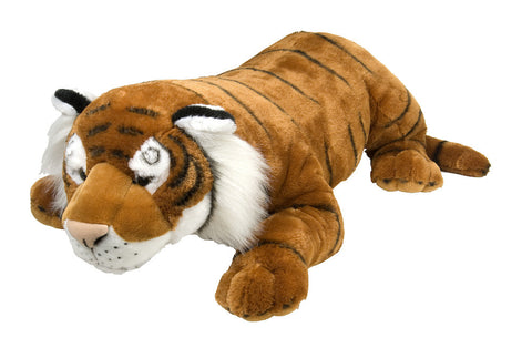 Cuddlekins Jumbo Tiger  (30 in) by The Wild Republic