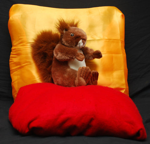 Cuddlekins Euro Red Squirrel (12 in) by The Wild Republic