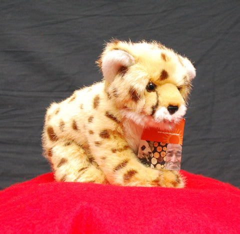 "Living Planet Cheetah cub plush (7"") by WWF"