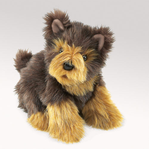 DOG, Yorkie Pup  puppet by Folkmanis