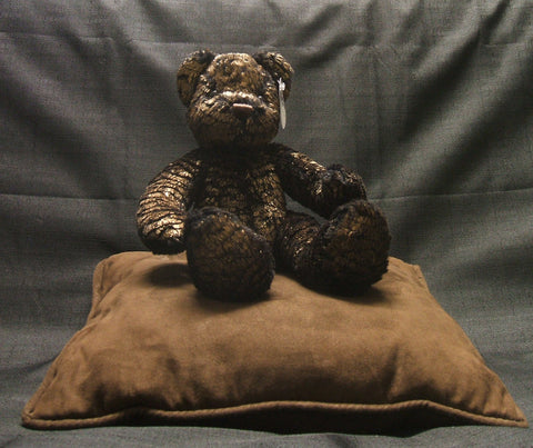 "Copper George' teddy bear (10"") by Expressions For You"