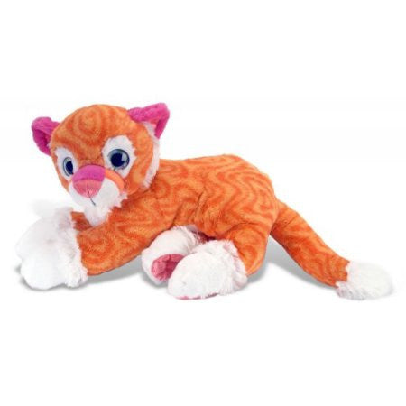 Sweet & Sassy Tangerine Tiger (12 in) by The Wild Republic