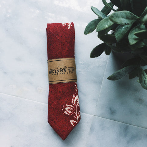 Etoile Skinny Tie - Lord and Lady