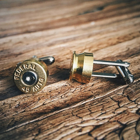 Bullet Cuff Links - Lord and Lady