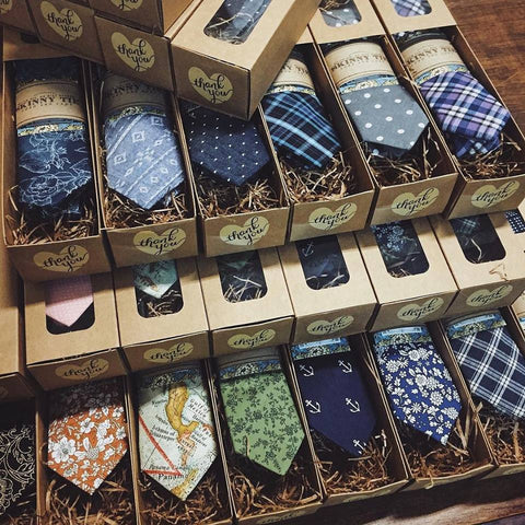 Skinny Tie || All Boxed-Up!