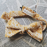 Harvest Gold Bow Tie by Lord and Lady