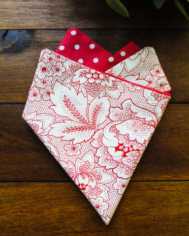 Secret Garden Pocket Square