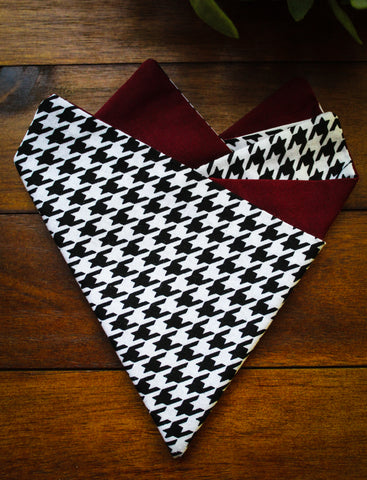 Alabama Houndstooth Pocket Square