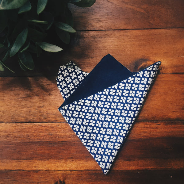 Prague Pocket Square - Lord and Lady