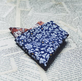 Charleston Indigo Pocket Square
