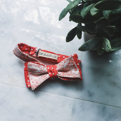 Secret Garden Bow Tie - Lord and Lady