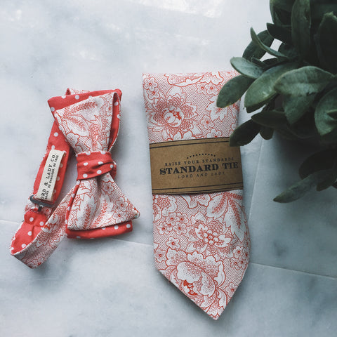 Secret Garden Bow Tie