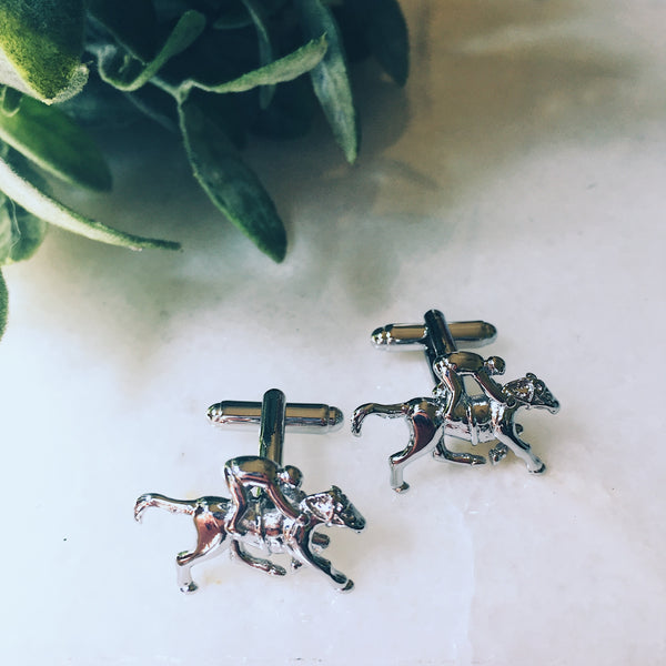 Derby Cuff Links - Lord and Lady