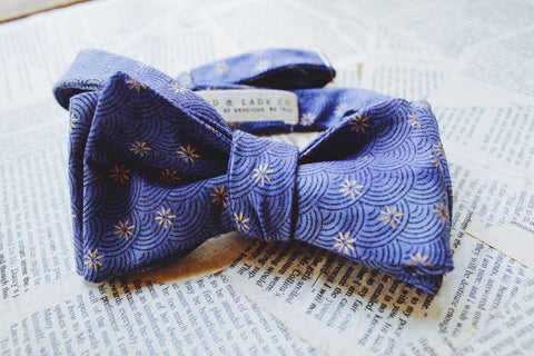 Purple Heart Bow Tie