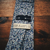 Pembrokeshire Skinny Tie - Lord and Lady