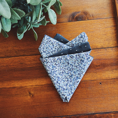 Pembrokeshire Pin Dot Pocket Square
