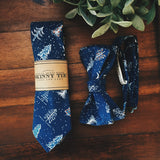 Dashing Through the Snow Skinny Tie - Lord and Lady