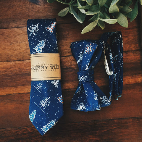 Dashing Through the Snow Skinny Tie