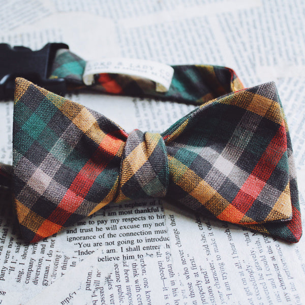 Edinburgh Dapper Dog Bow Tie
