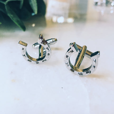Good Luck Cuff Links - Lord and Lady