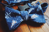 Christmas Tree Dapper Dog Bow Tie