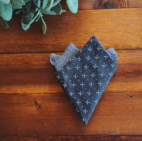 Little Man Pocket Square || Archer || Lord and Lady
