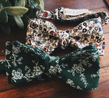 Jade Vines Bow Tie - Lord and Lady
