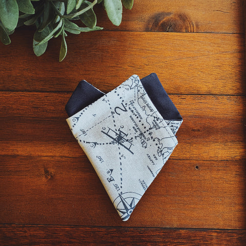 Little Man Pocket Square || Explorer || Lord and Lady