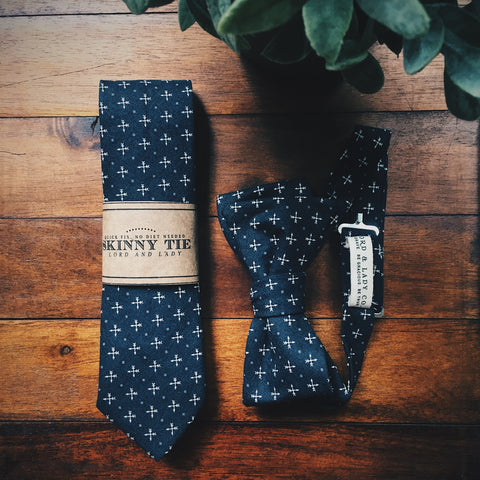 Quinn Skinny Tie - Lord and Lady